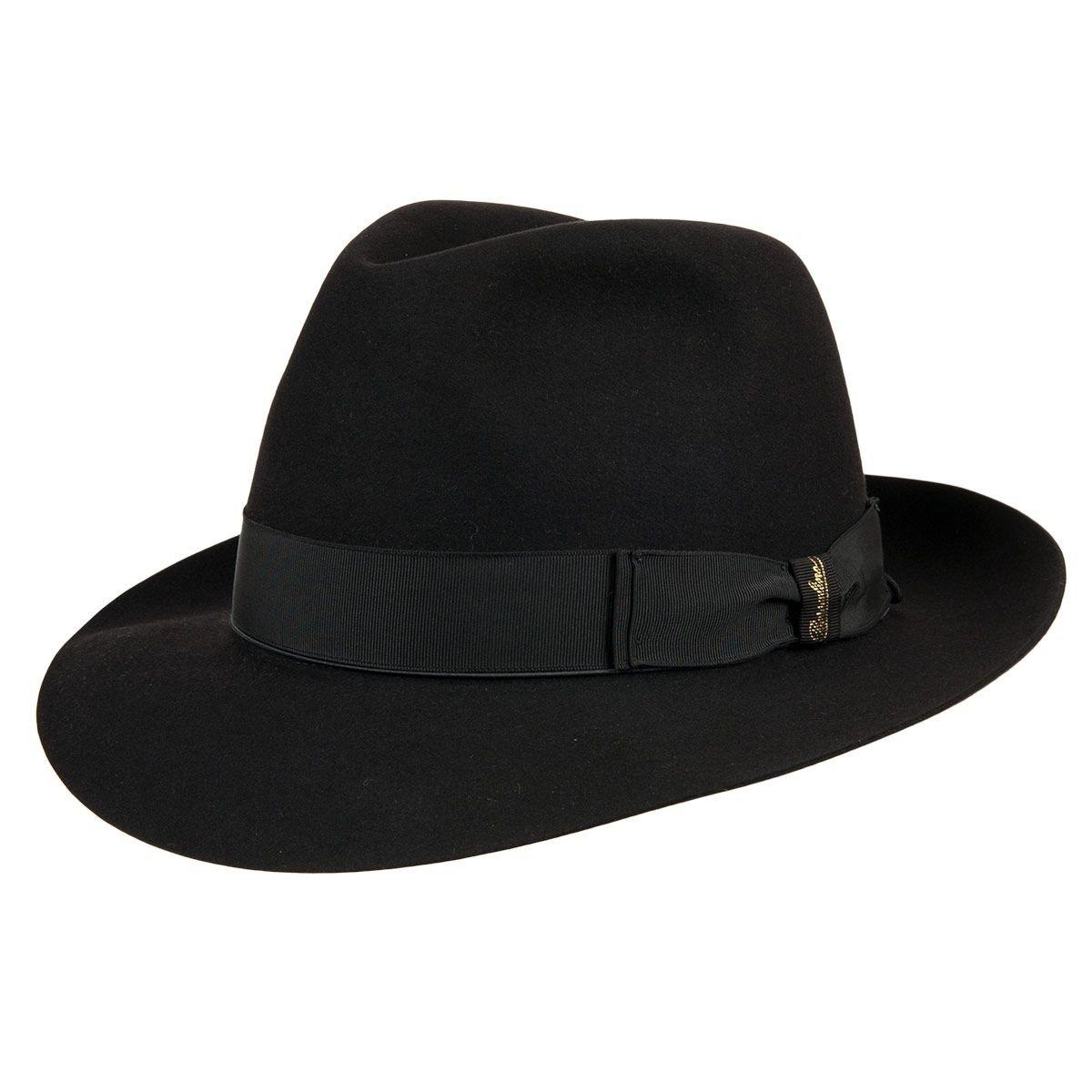 Borsalino hat with original hatbox