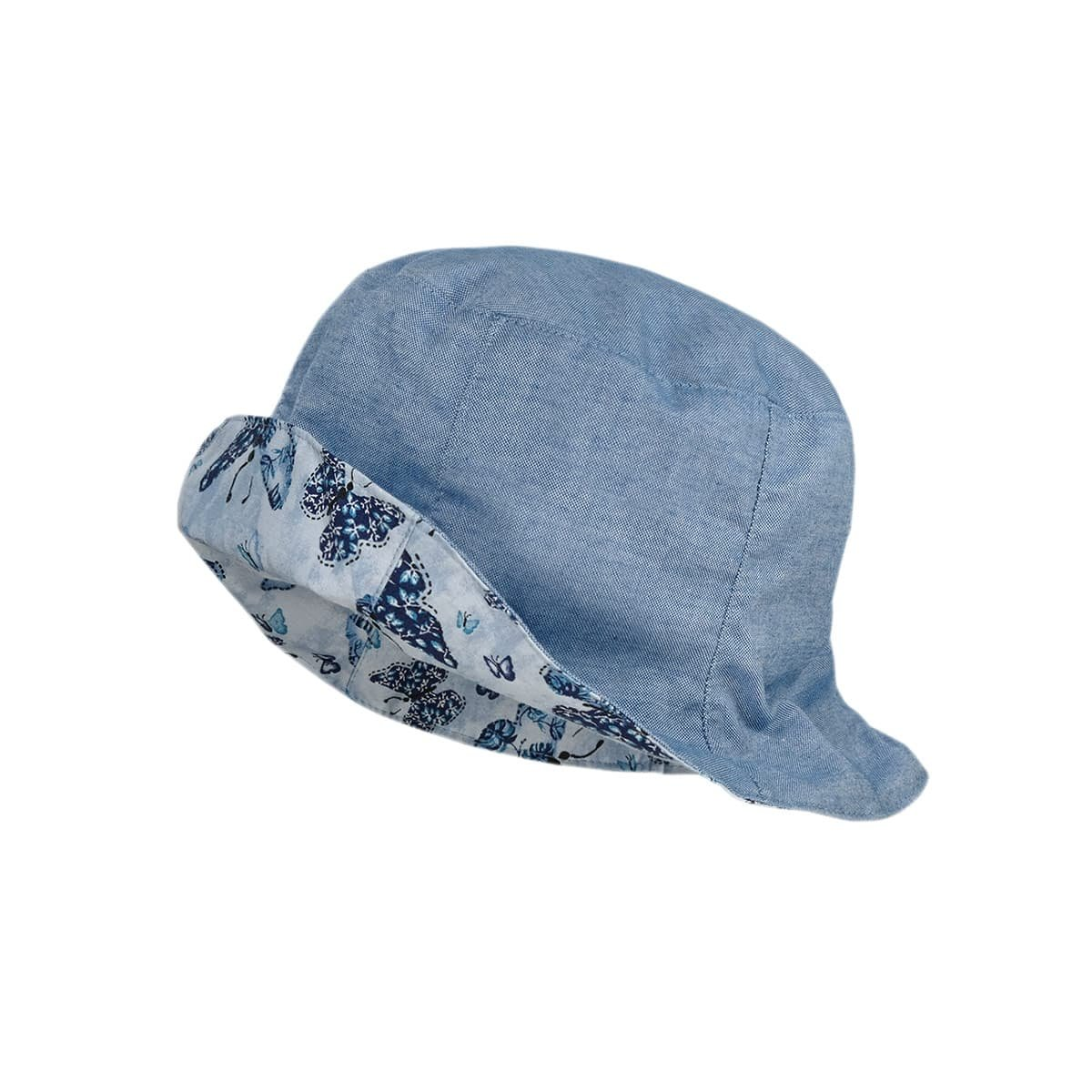 maximo KIDS BOY Mütze Schiebermütze denim blue