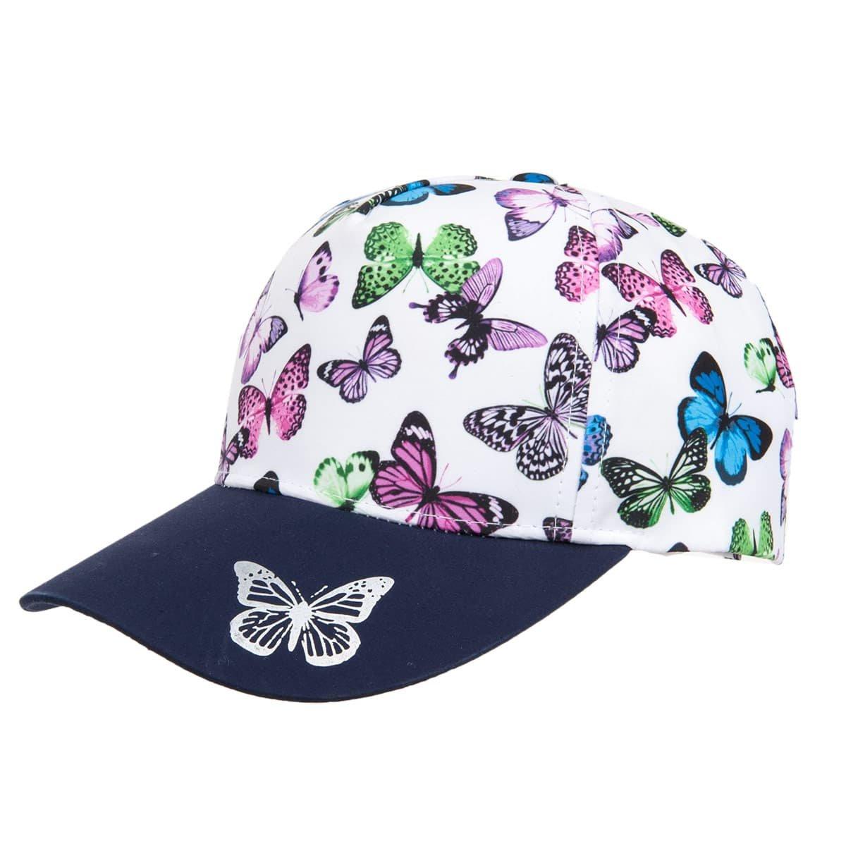 MAXIMO | berretto bimba e donna multicolor chiusura velcro ...