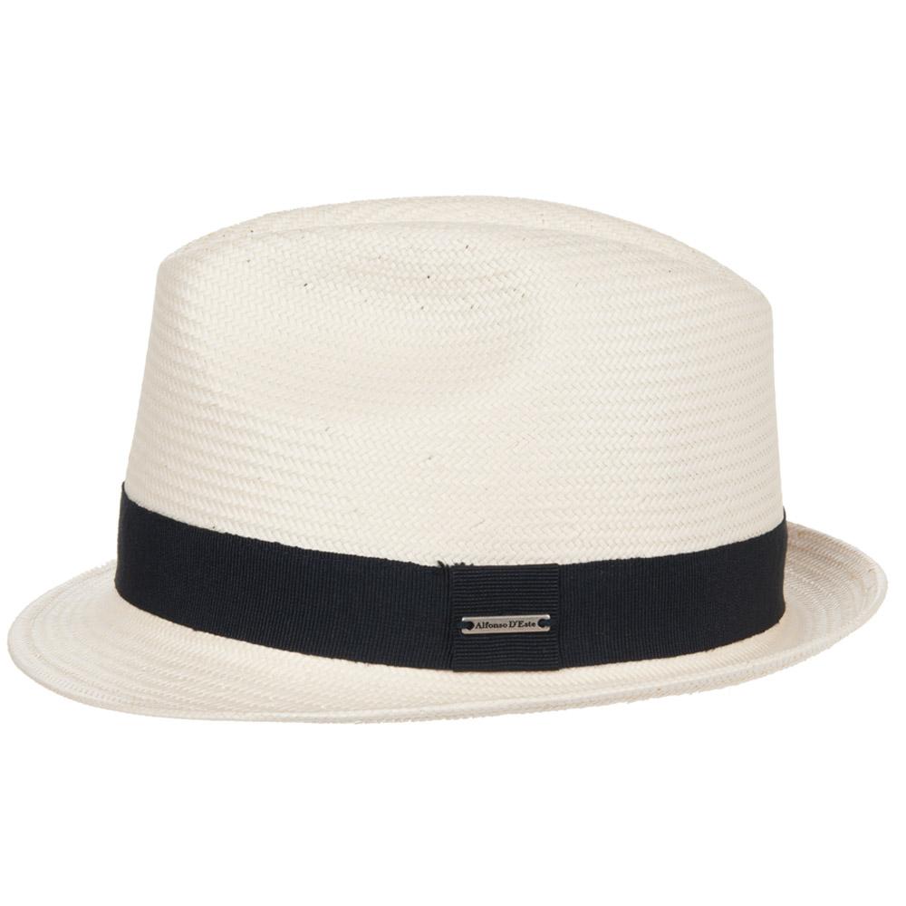 Mattia cappello trilby firmato ALFONSO D ESTE 0cd92c5c59ca