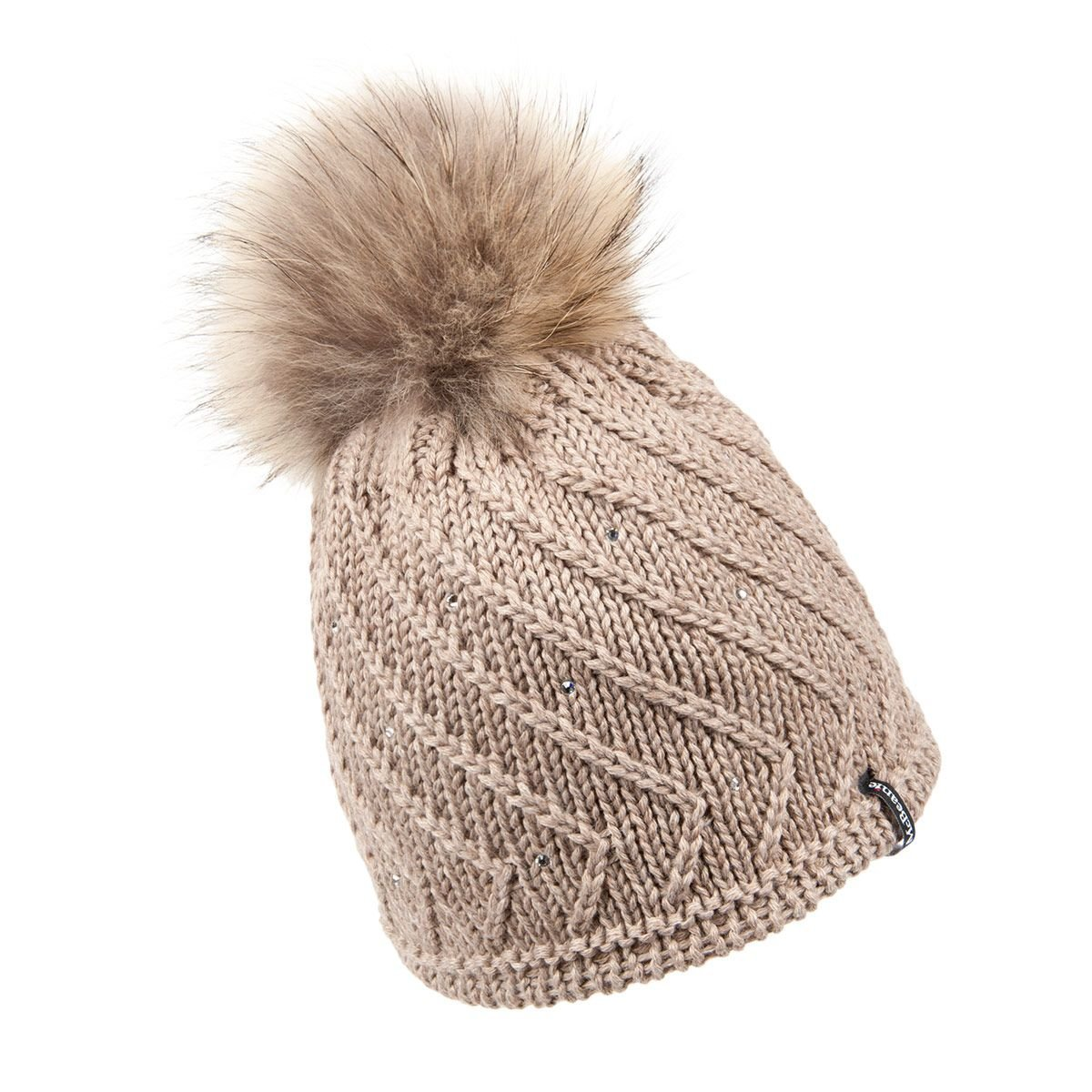 ineguagliabile nelle prestazioni prezzo competitivo bambino McBEANIE | berretto donna lana maglia con pompon e strass