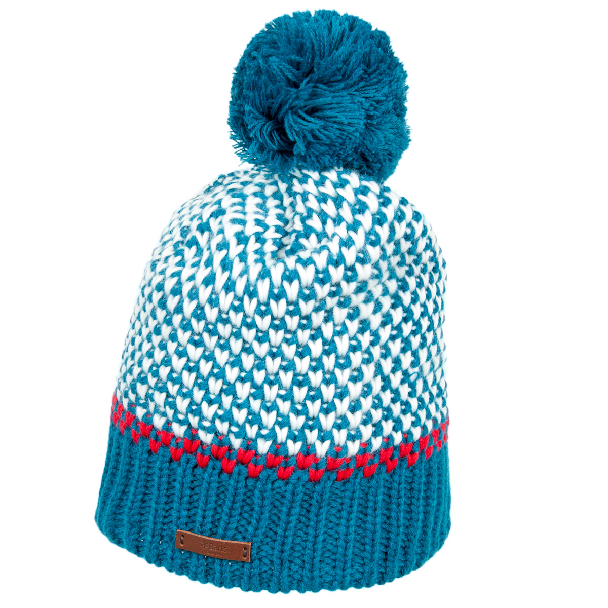 b0d9102f BARTS knitted beanie with pompom and lining