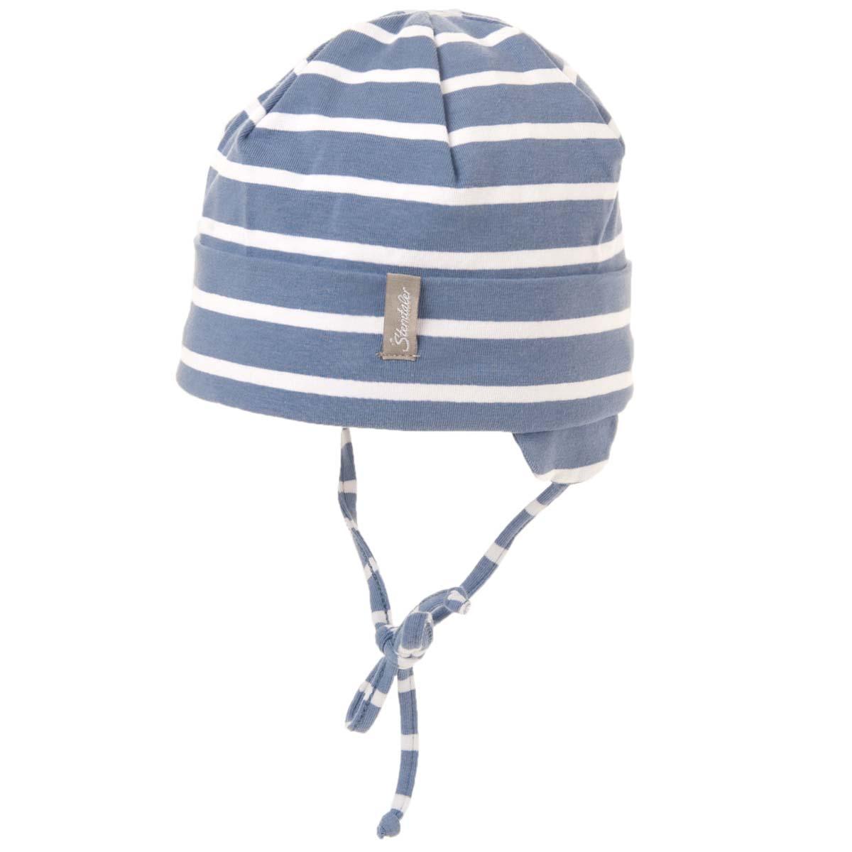 STERNTALER Mütze mit Ohren- und UV-Schutz zum Binden 4aaaf7f200c