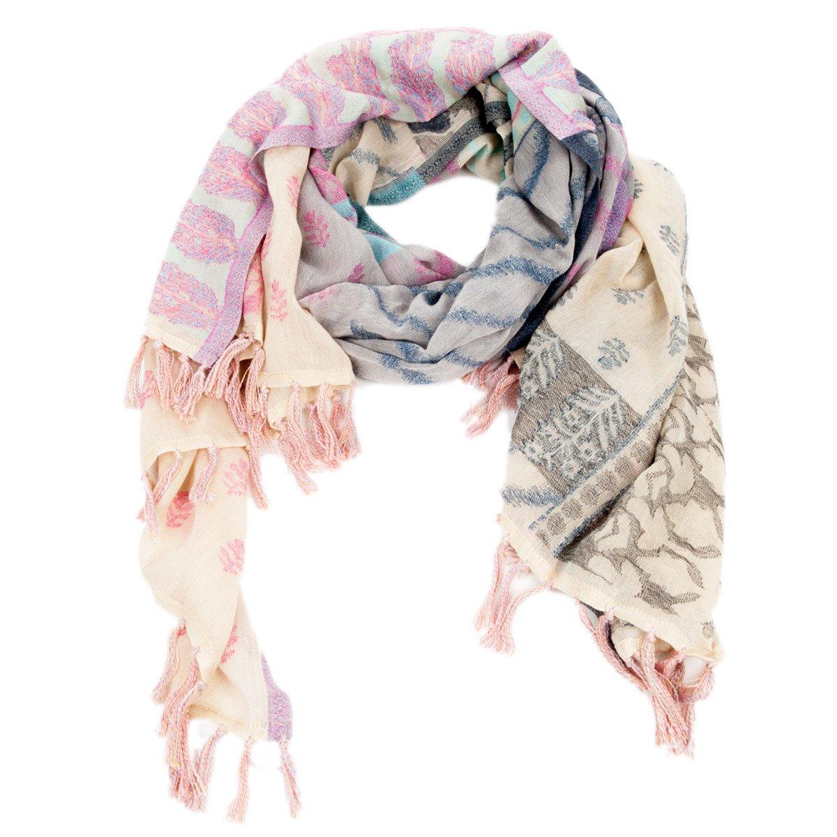design senza tempo 37f10 e3938 PASSIGATTI sciarpa Colorata