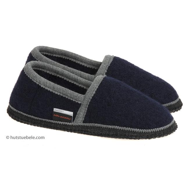 vendita outlet prezzo ufficiale il più votato reale Pantofole chiuse in pura lana cotta della casa Kitz-Pichler