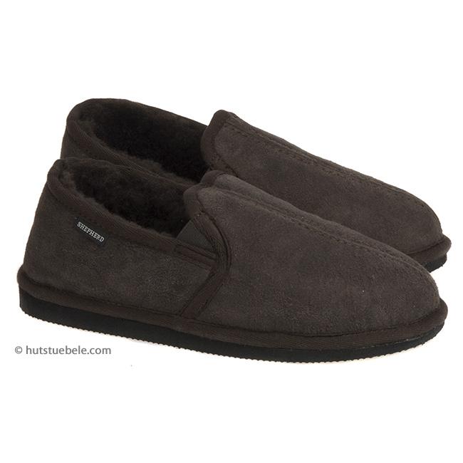 premium selection 3e73f e4fb3 Pantofole da uomo imbottite con lana di montone