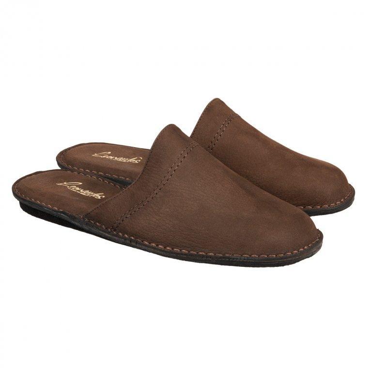 ... pantofole » pantofole e ciabatte » Pantofole da uomo in pelle nabuk