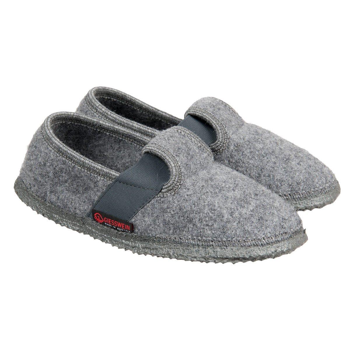 modelli alla moda bellissimo a colori intera collezione Pantofole di lana cotta con suola antiscivolo firmate Giesswein modello  Türnberg