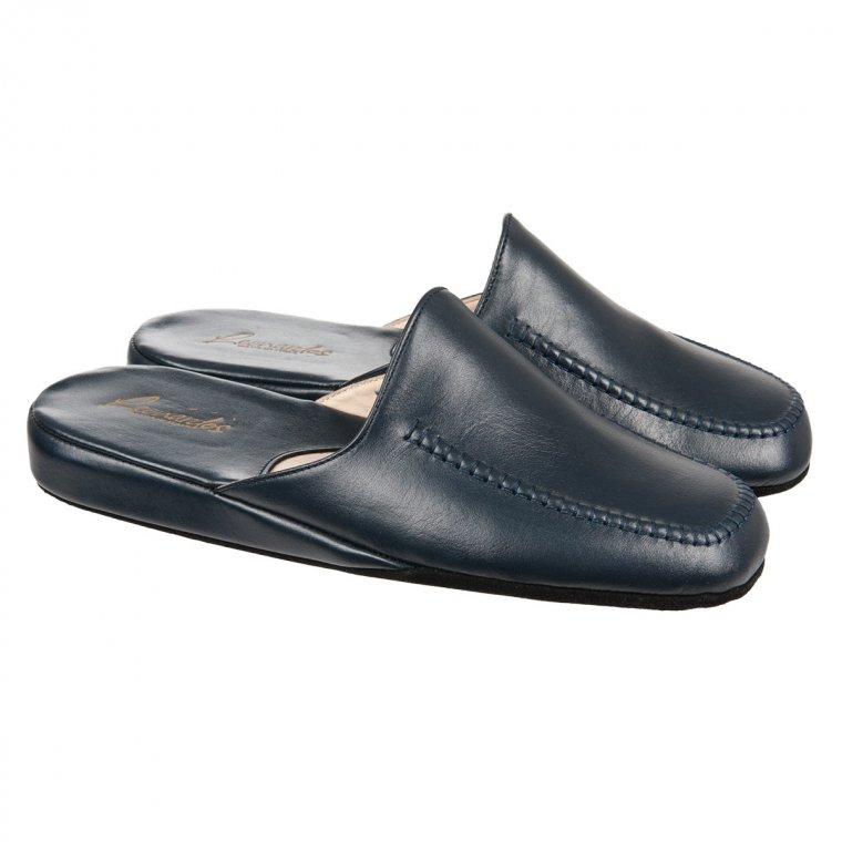 ... pantofole » pantofole e ciabatte » Pantofole in pelle da uomo