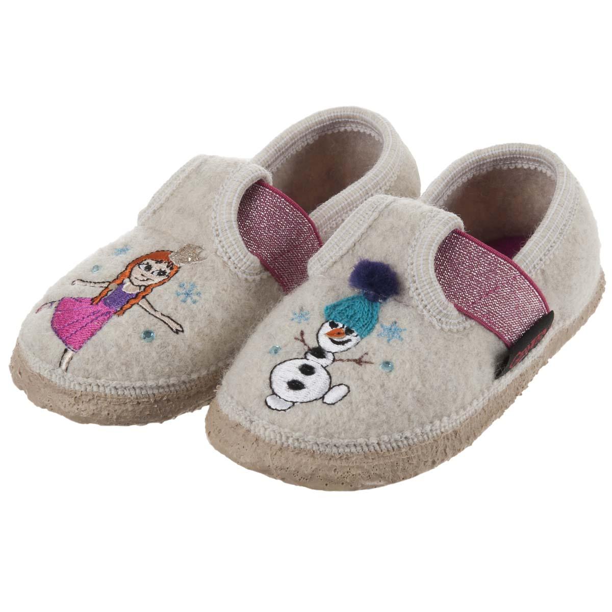 immagini dettagliate 100% autenticato speciale per scarpa Pantofole per bambina modello TREBEL firmate GIESSWEIN