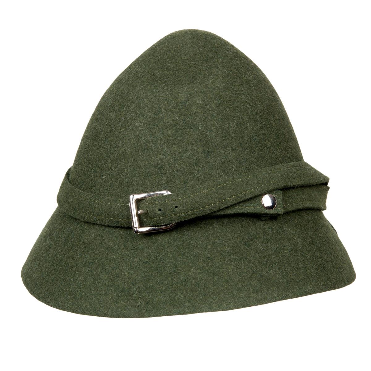 bbea5f88d Pocket Tyrolean hat in felt signed by HUTTER