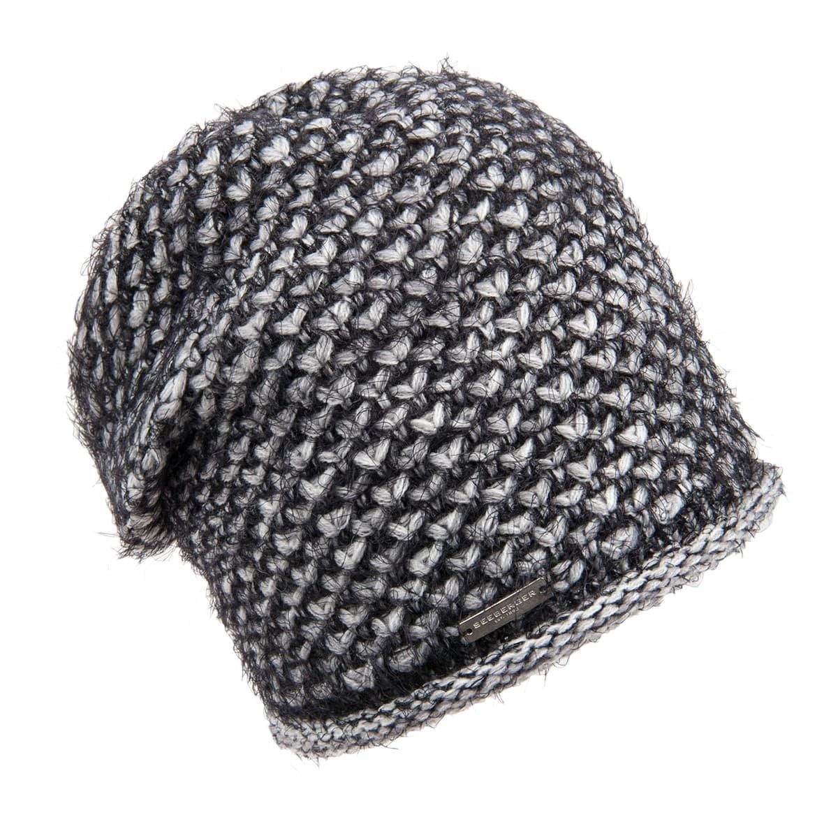 negozio dettagli per negozio online SEEBERGER | ladies headsock fancy and fluffy structure --> Online ...
