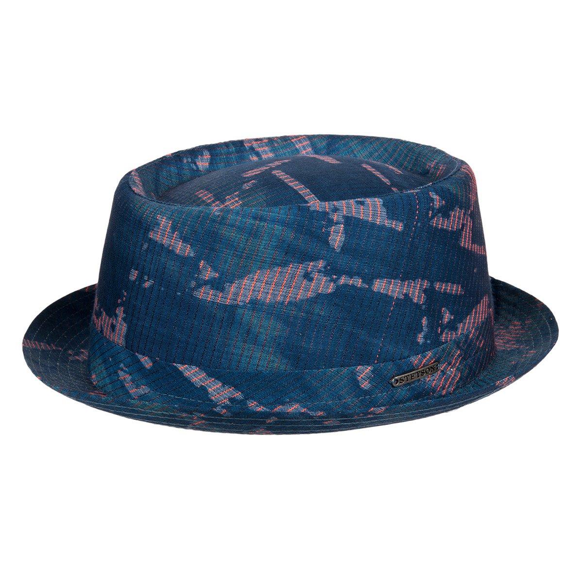prezzo scontato ufficiale più votato autorizzazione STETSON   Pork Pie Stripes cappello estivo