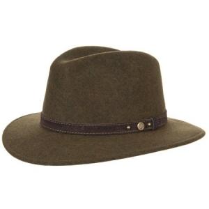 43696. Silva sporty crushable woolfelt hat by HUTTER aeca7ebc9398