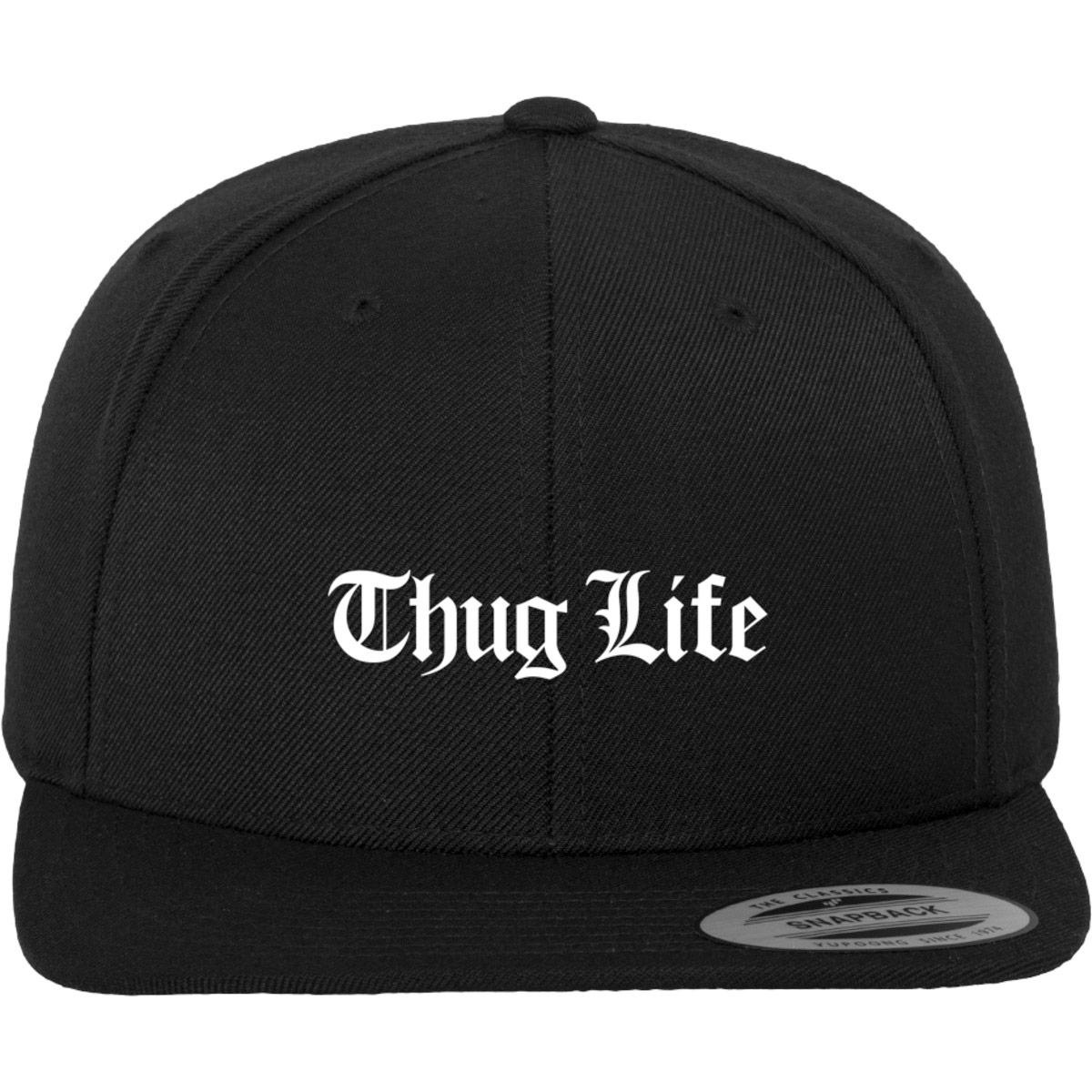 Thug Life Old English Snapback baseball cap ef3379eee4c