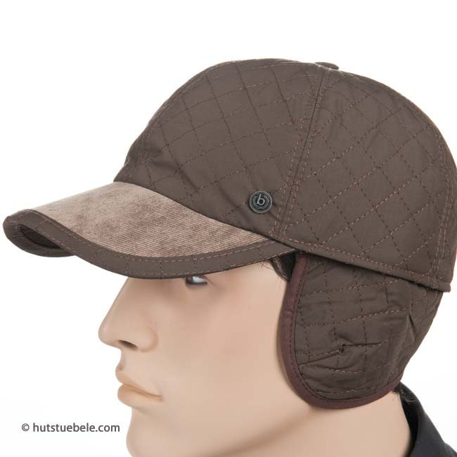 baseball cap by Bugatti with ear flaps