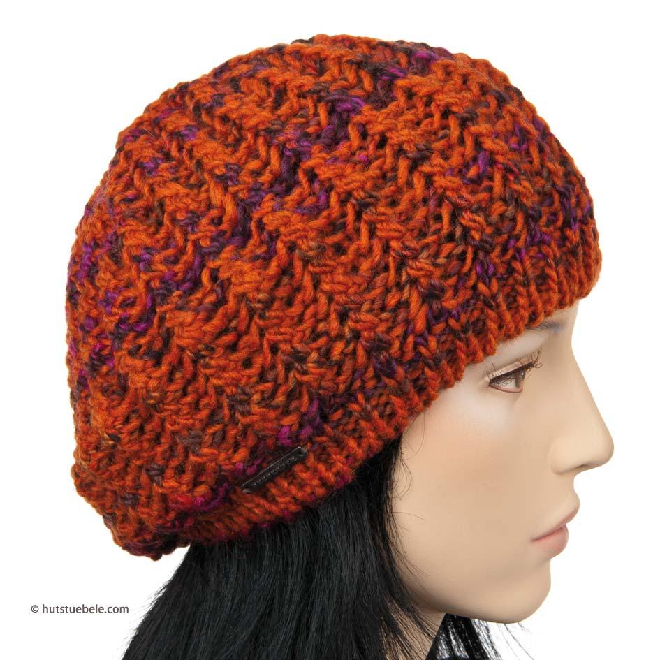 de275e158e4 basque hat in knitting by Seeberger
