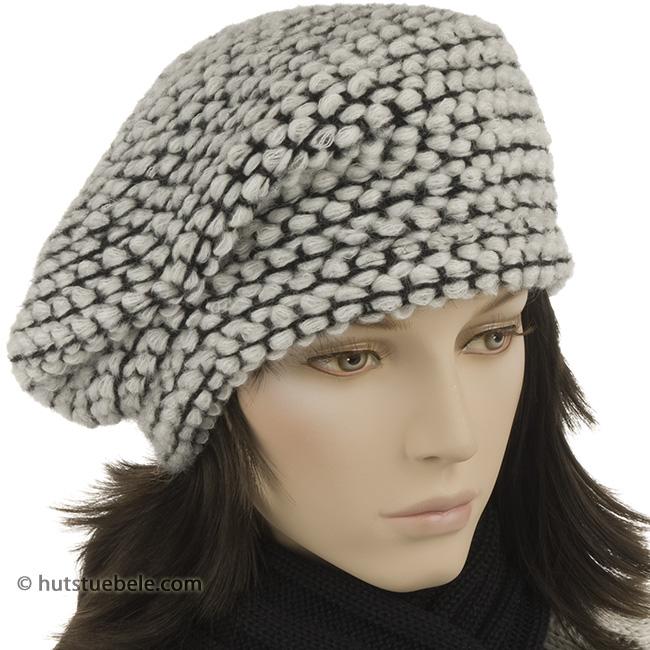 bellissimo basco in lana maglia grossa ... b73bf1347dfb