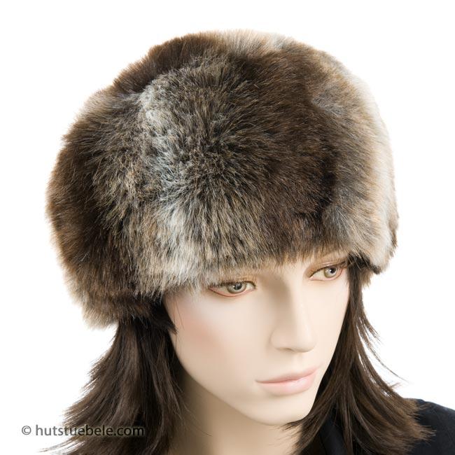 bellissimo berretto in pelliccia ecologica ... 6f8dc40f1949