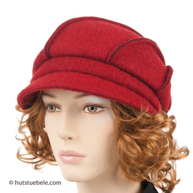 Elegante cappello alla monello con visiera a5dcab6152f1