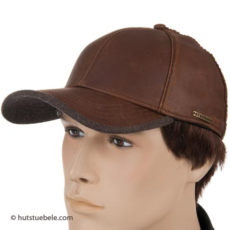 berretto con visiera da uomo Plano Goatskin by Stetson 07b82e0e1c84