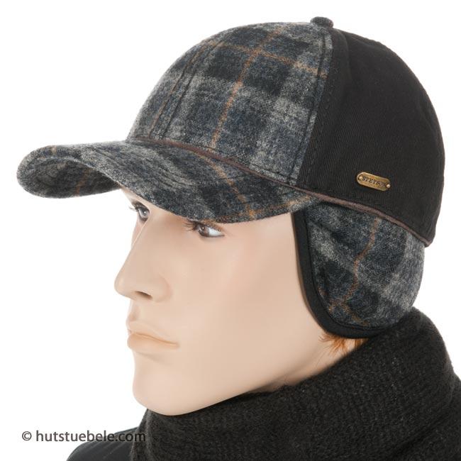 berretto con visiera e paraorecchie di STETSON ... ed6f2c3dd759