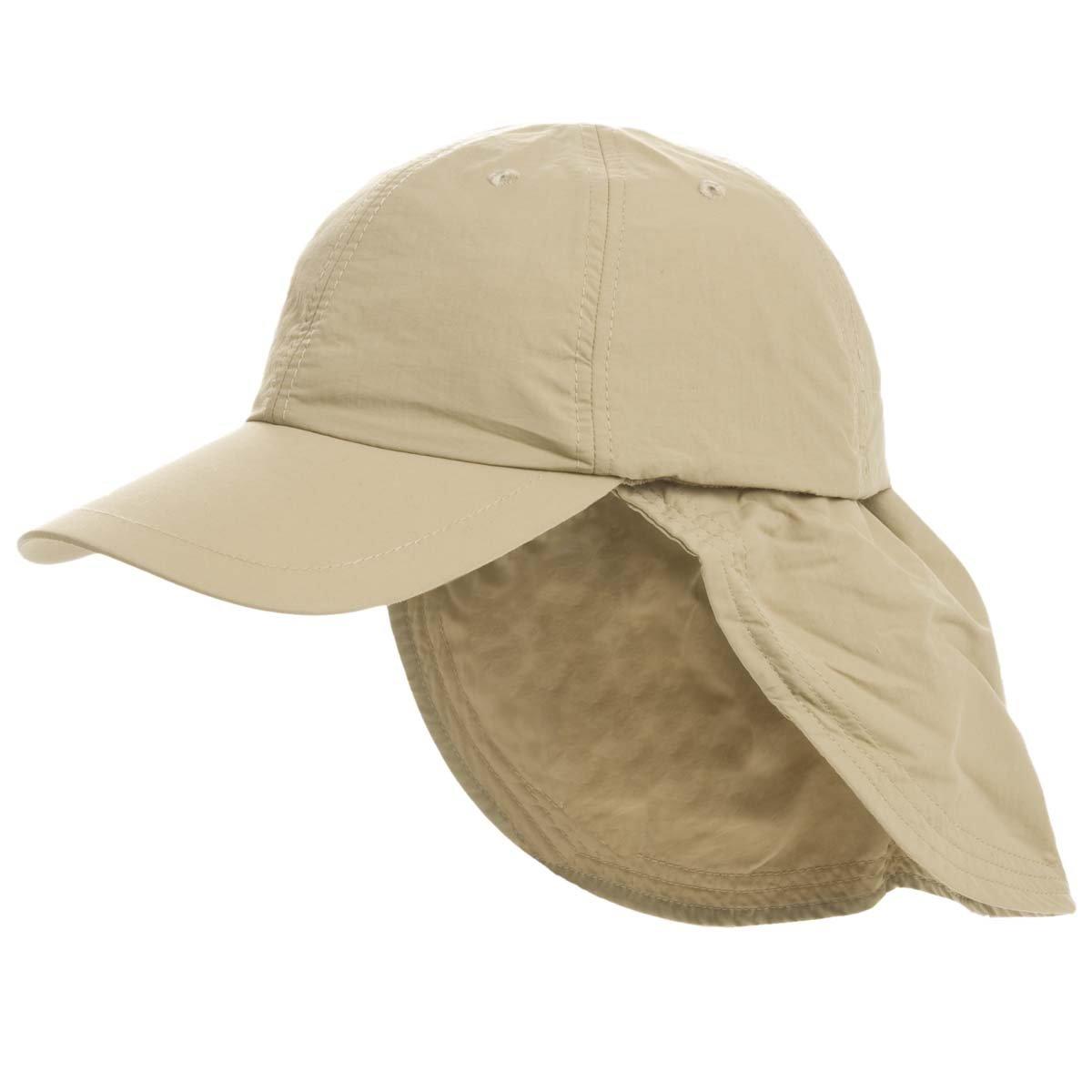berretto con visiera in SUPPLEX con coprinuca staccabile 54d903fc7095