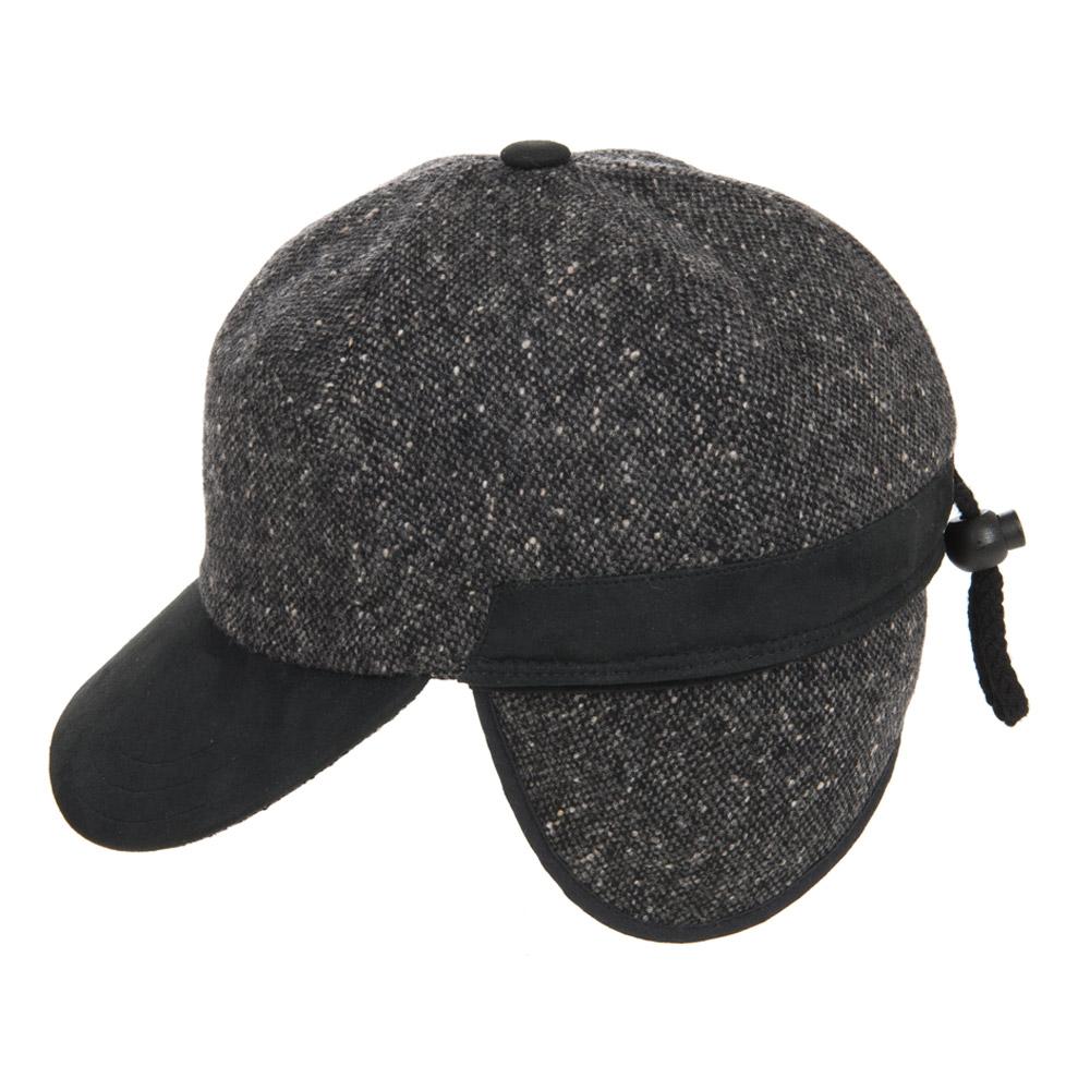 berretto con visiera in lana con paraorecchie e fodera in pile ... 6f597def8b4f