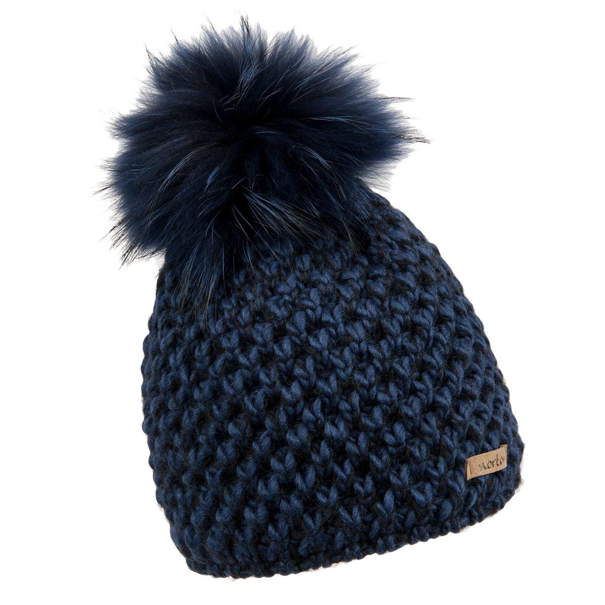 berretto da donna con pompon animale modello Kate firmato Norton ... 4c8b2e830fe2
