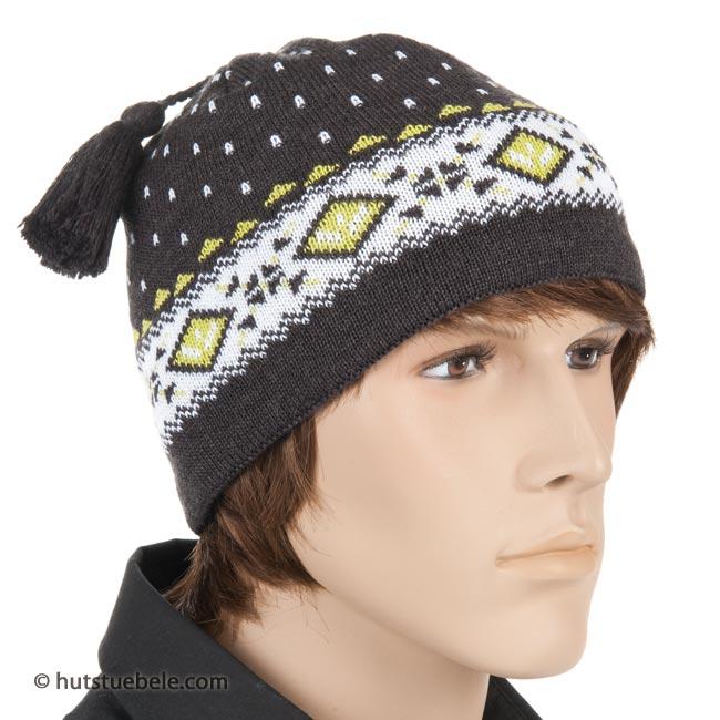 Berretti Uomo E Pile berretto da uomo in maglia con pile interno eur 32 90 f855d8e232cb