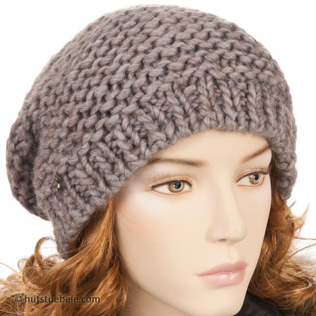 ... berretto in maglia by Seeberger berretto rasta per donna 9fad3a7b77b1