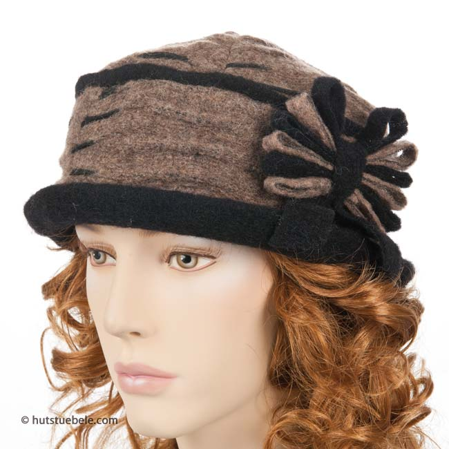 HUTTER - cappello invernale per le donne con un' elegante ...