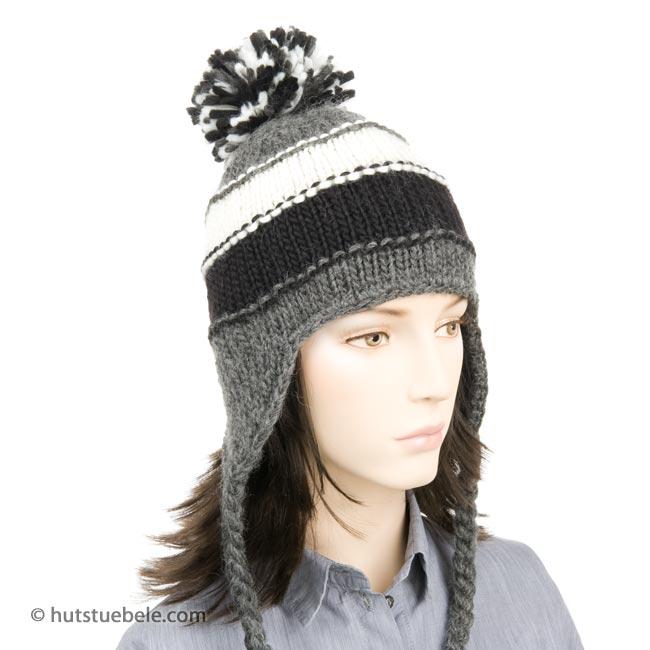 berretto peruviano in maglia ... 9eda61fc46ad