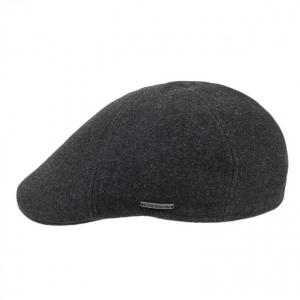 berretto piatto Texas Wool Cashmere Earflaps firmato STETSON