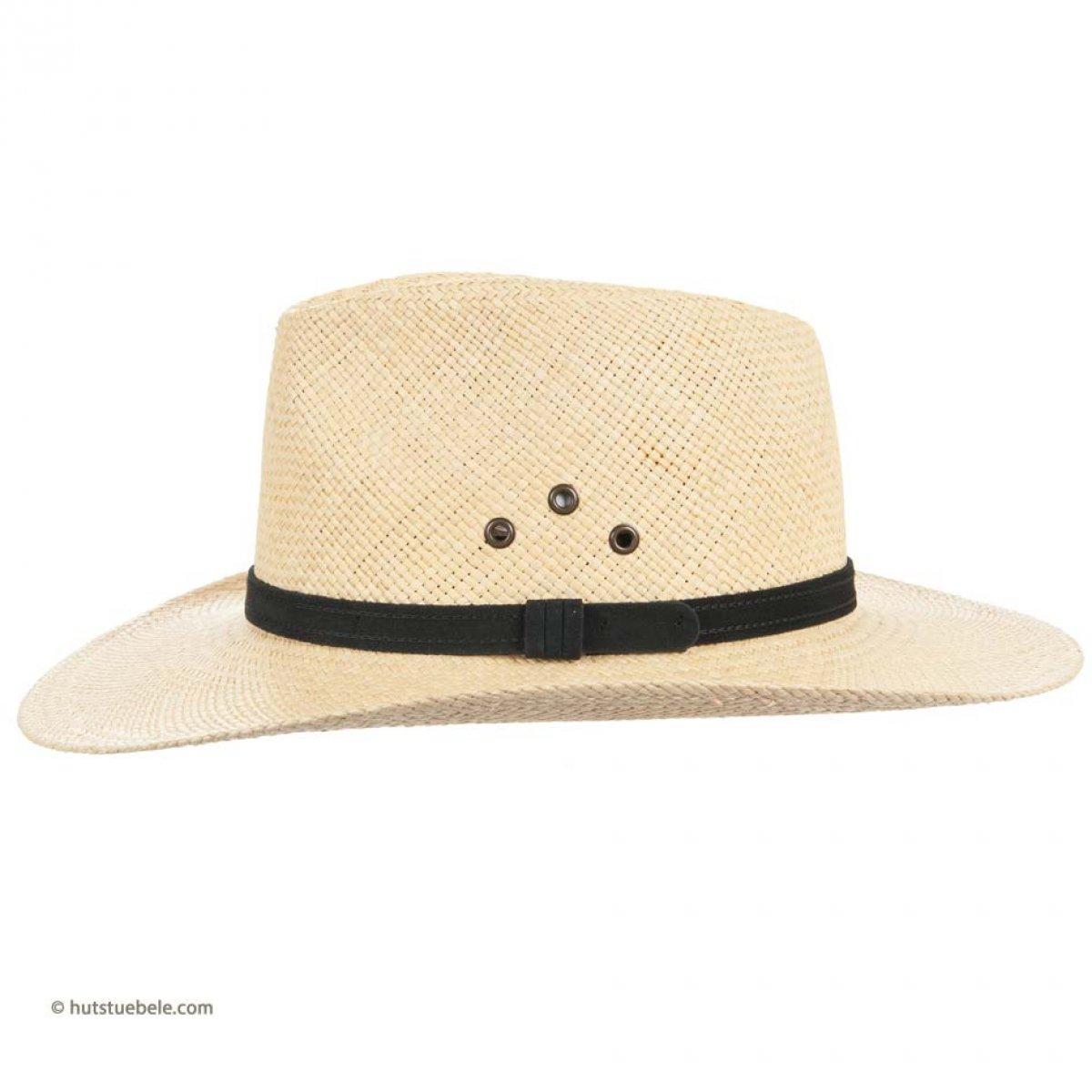 cappello da uomo con tesa larga e cinturino in pelle per il tempo ... f8e7bbb56c06