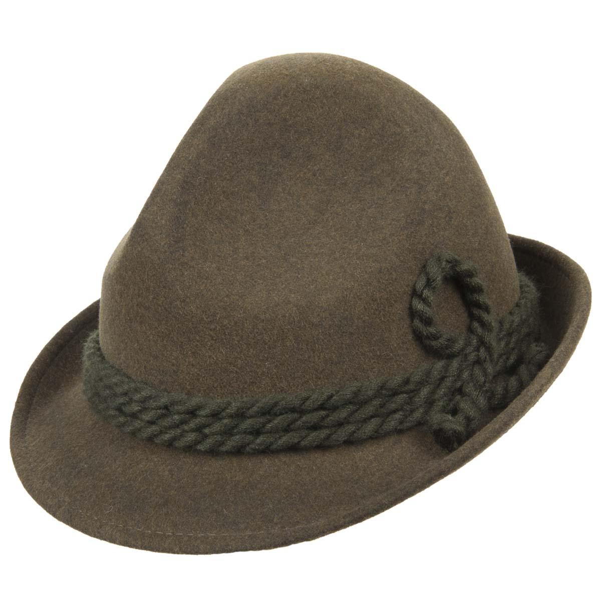 cappello caccia Bruno in feltro morbido firmato HUTTER ... 383ee957e6aa