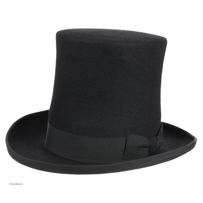 cappello cilindro in feltro lapin 023945f18ef7
