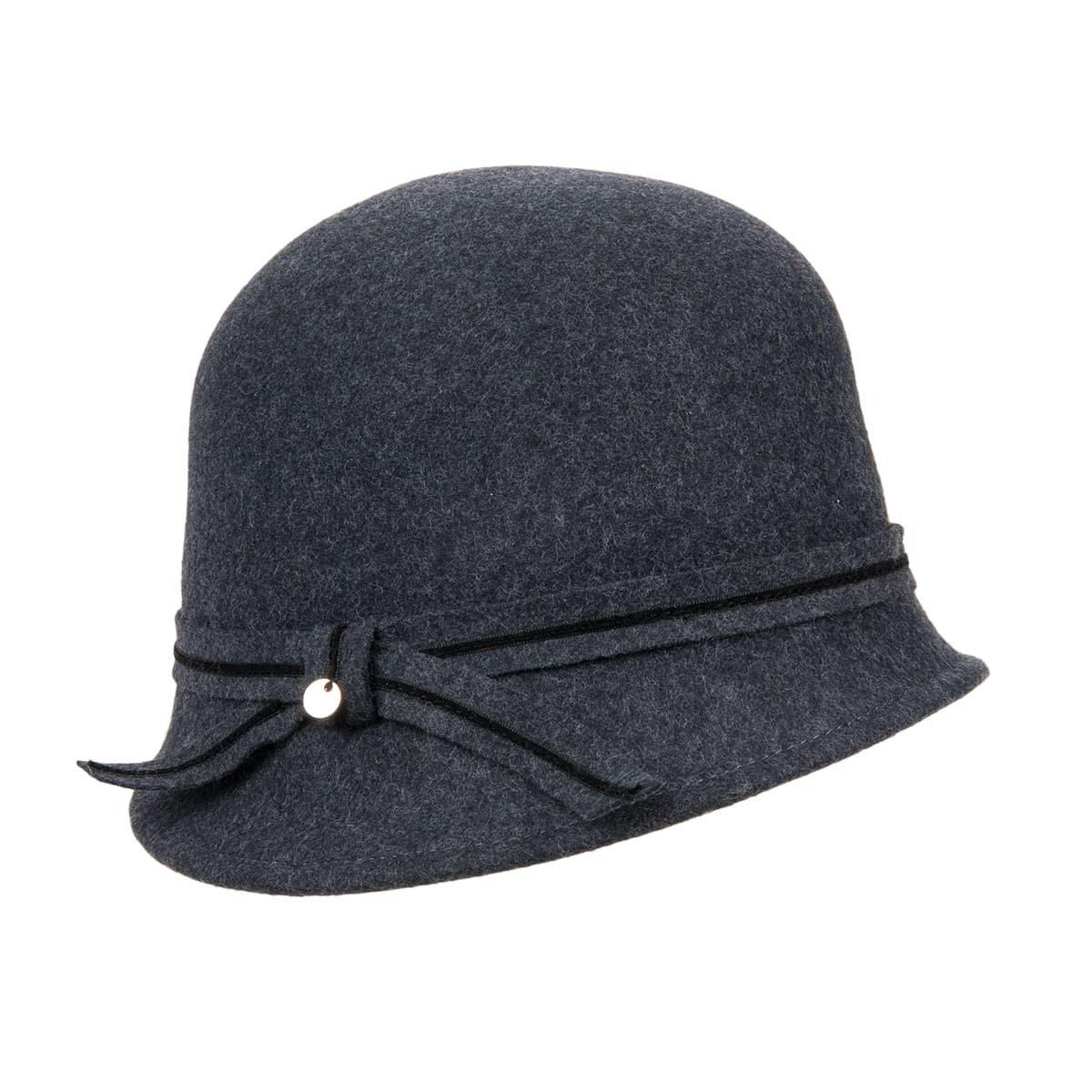 cappello cloche donna in feltro lana --> Online Hatshop ...