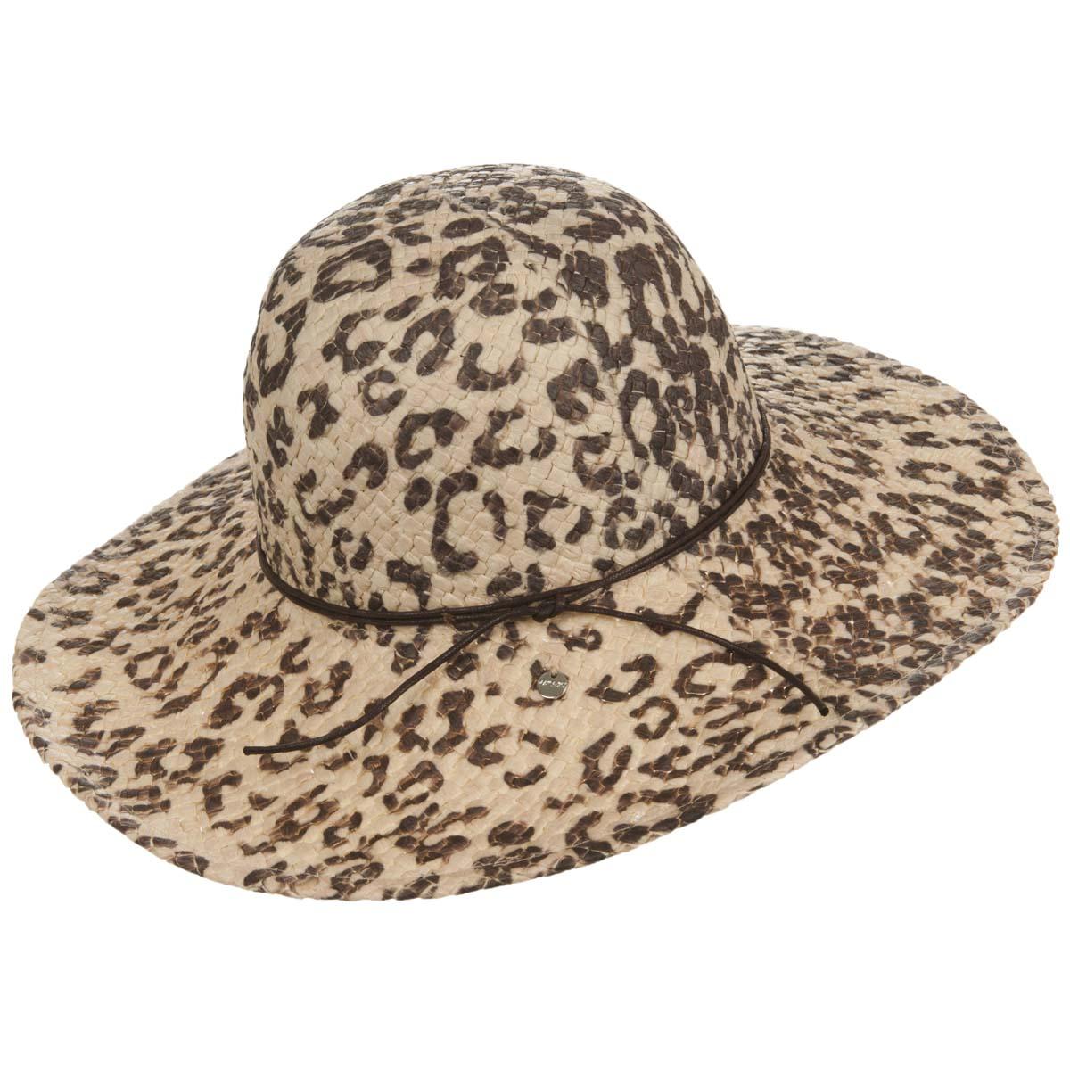 cappello estivo da donna con stampa leopardata 5ccf69d9c738