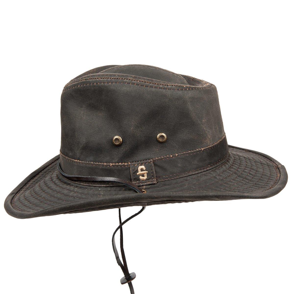 cappello con tesa larga Diaz Cotton firmato Stetson e94bdfbab64b