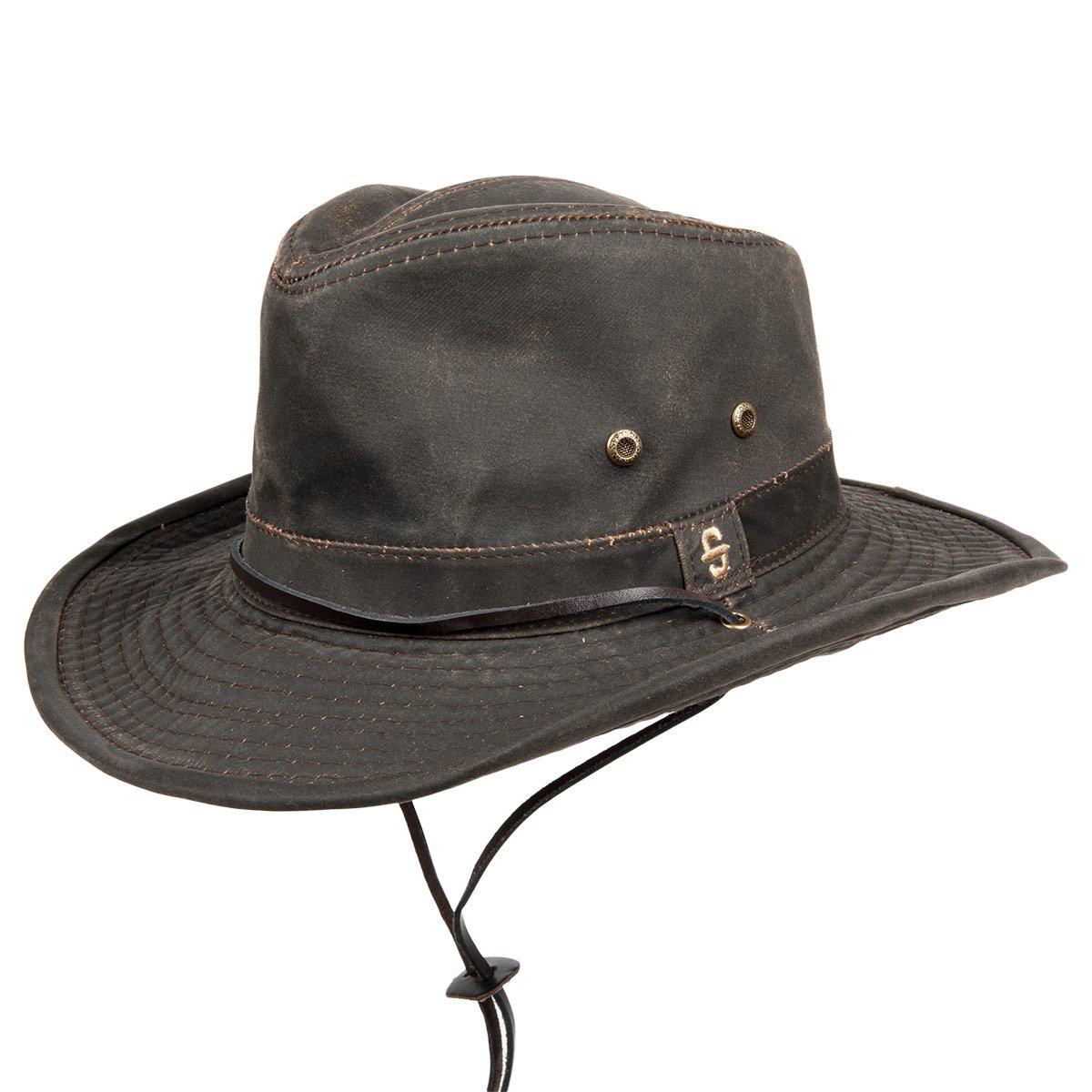 STETSON | cappello outdoor Diaz cotton in pelle ecologica