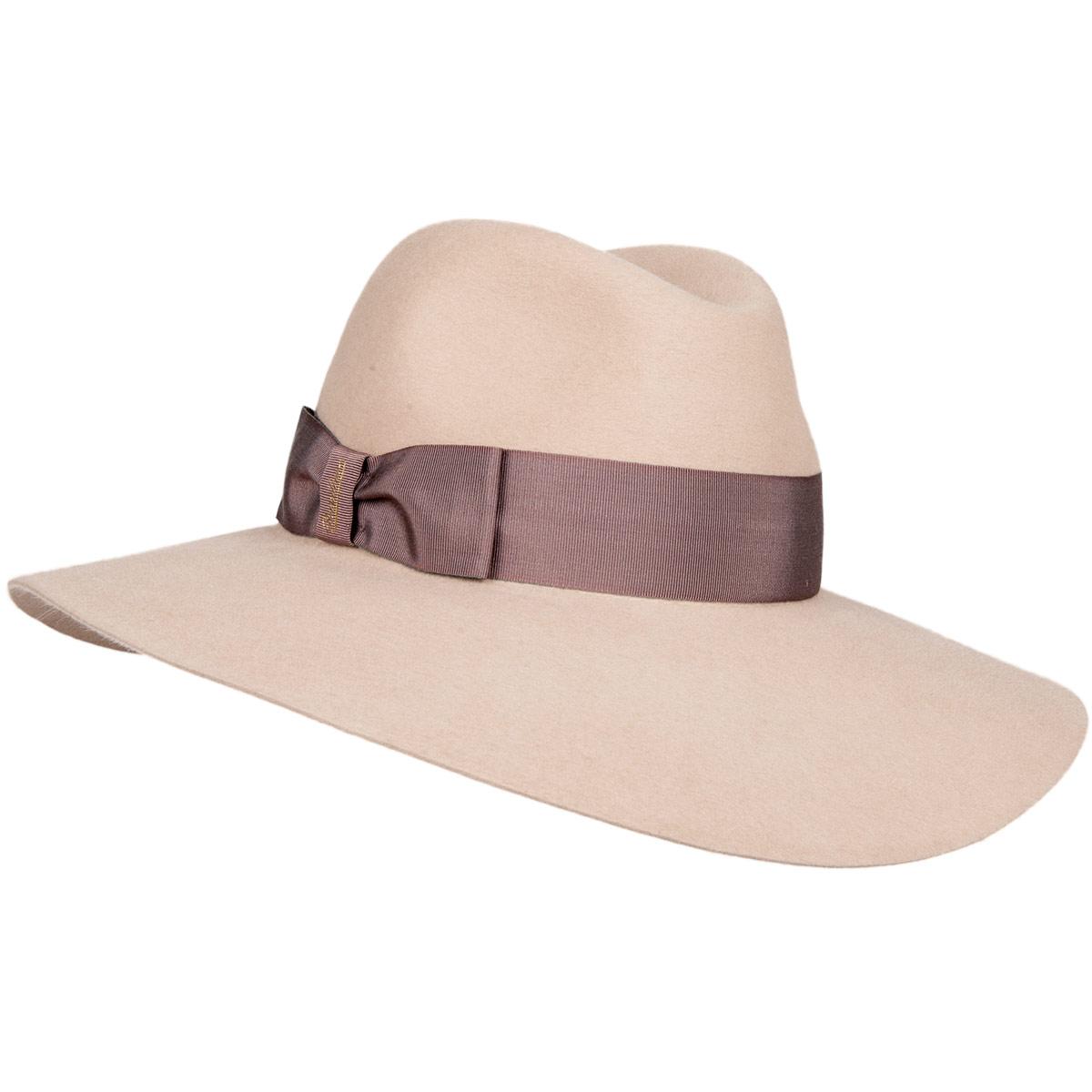 cappello con tesa larga Sophie firmato BORSALINO ... cef8b2556689