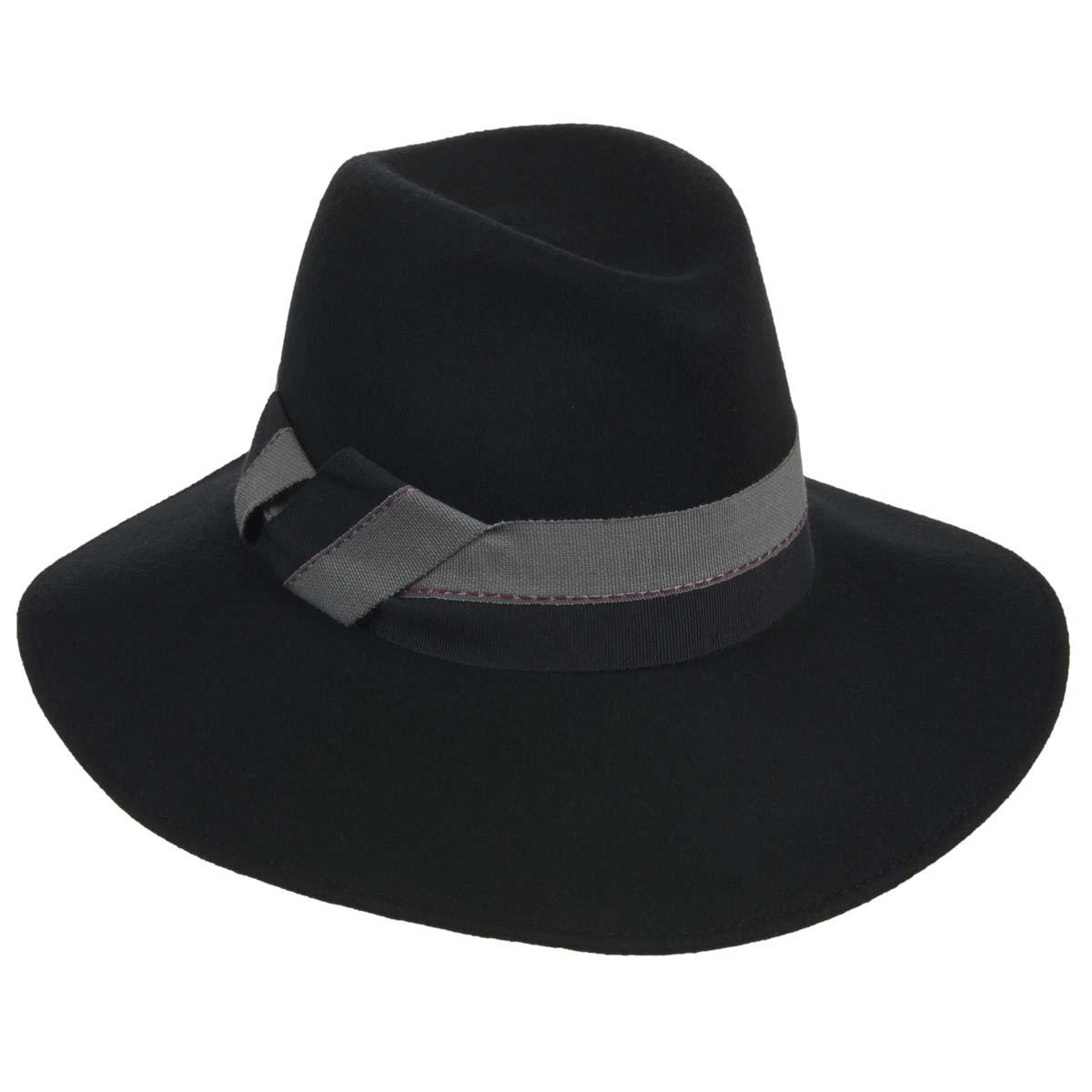 cappello con tesa larga firmato ALESSANDRA BACCI  8b4077626d13