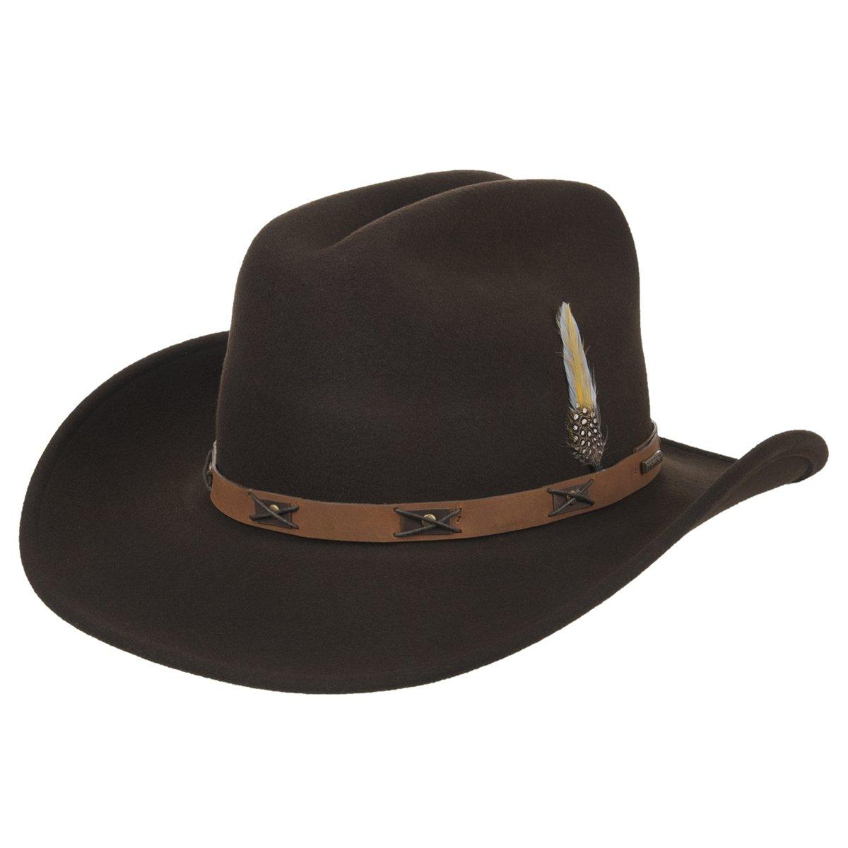 Victorville - il cappello da cowboy in stile western di Stetson