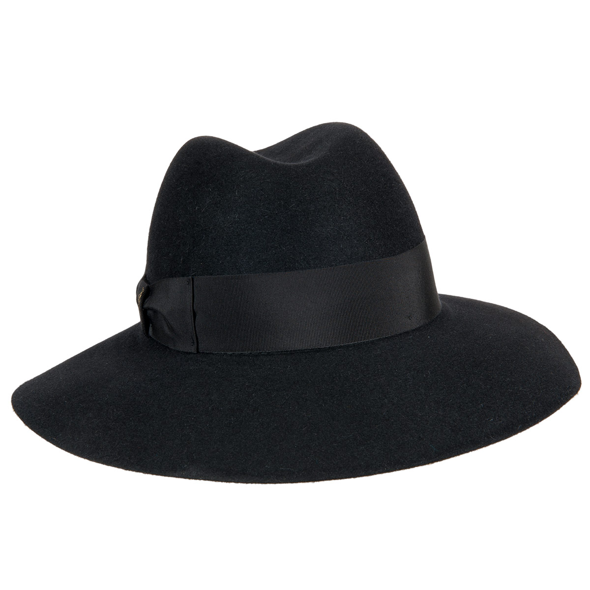 ... cappello da donna Claudette con tesa larga firmato BORSALINO ... b264eb272b0d
