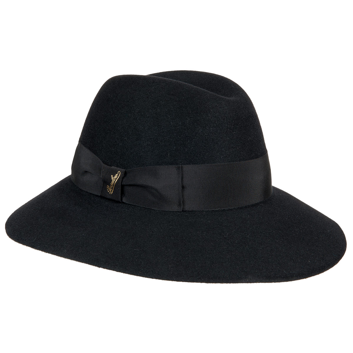 cappello da donna Claudette con tesa larga firmato BORSALINO ... cdda910b41a6