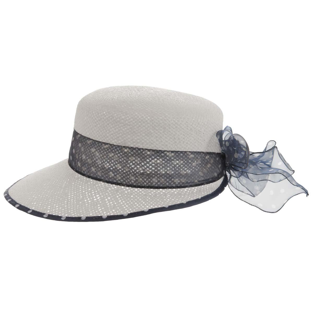 cappello da donna con visiera larga in paglia naturale aae5ecfb2bdf