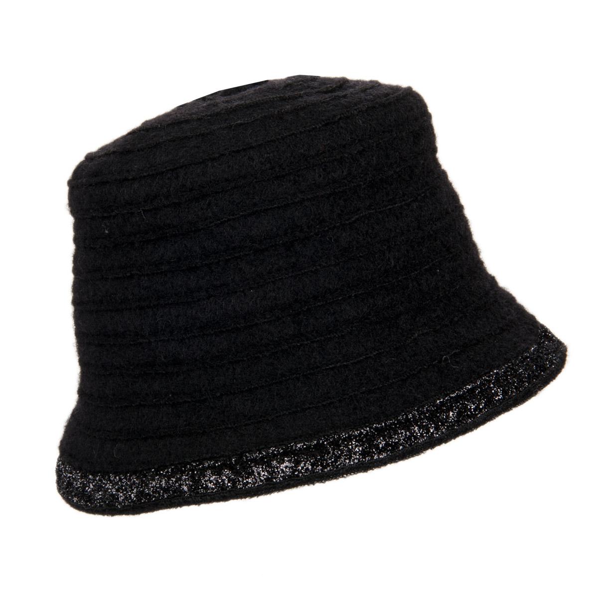 cappello da donna di lana con decorazione lurex 7821e1b90eac