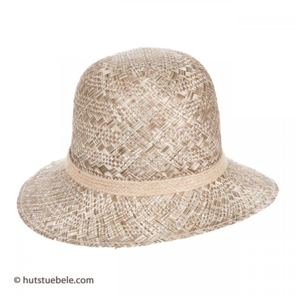 cappello da donna in paglia con tesa piccola  21439d2a01b2