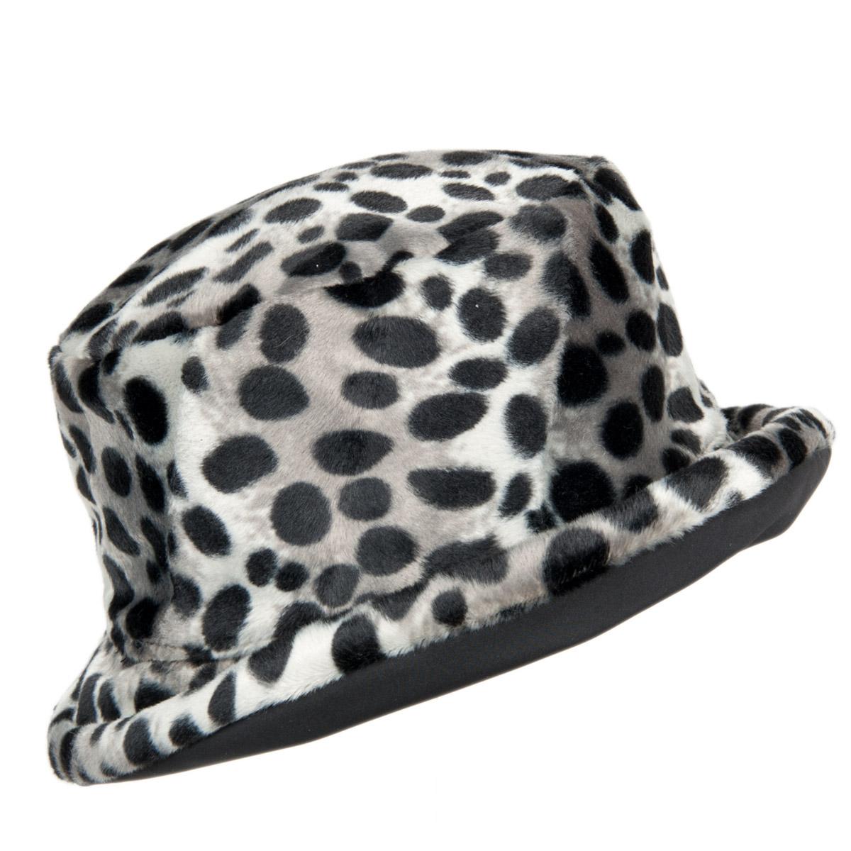 cappello da pioggia con stampa leopardo reversibile ... 77fc5cada57e